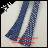 中国の工場卸売の細い編まれたジャカード絹製ネクタイ