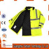 高い可視性の冬の防水反射安全機密保護のジャケット