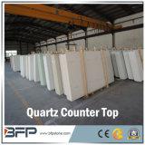 Countertop van het Kwarts van Carrara van Bianco Witte in Levering voor doorverkoop