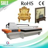 Принтер деревянной кожи UV планшетный с Seiko 1020/1024/508 головок печати