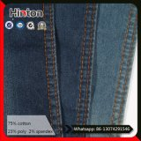 Hot Sale 21s Twill Dark Blue Denim Tecido para Jaqueta