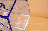 Прозрачная коробка подарка для дня рождения, венчания, церемонии открытия упаковывая пластичную коробку