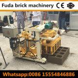 Het semi Automatische Holle Blok die van de Vliegas van het Hydraulische Cement Machine maken