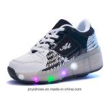 Крыла света обувают ботинки USB/больше ботинок цвета/светящих ботинки СИД с светлыми ботинками