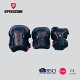 Deportes al aire libre de color negro de protección tácticos de pastillas de codo de rodillas