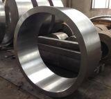 停止する鋼鉄リングの鍛造材SAE1045を開きなさい