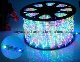 Corda de LED de Luz/Luz Exterior/LED/Luz de faixa de luz néon/Luz de Natal/Luz de férias/Luz de hotel/bar Luz Dois fios Cor-de-rosa 25 LEDs 1,6W/m faixa de LED