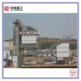 Torre quente da mistura concreta do asfalto da mistura 80t/H do PLC de Siemens do projeto modular com baixa emissão