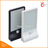 Im Freien 6 LED-Bewegungs-Fühler-Solargarten-Licht-Solarlampe