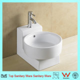Hot Sale vitreux Bassin d'art de la chine porcelaine sanitaire