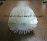Cepillo material blanco del rodillo de los PP para la limpieza o polaco (YY-659)