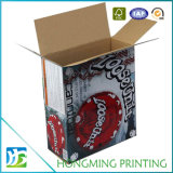 Embalagem de papel congelado impresso colorido personalizado
