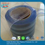 Umweltfreundliches hellblaues Nylon verstärkte Vinylvorhang-Streifen-Tür
