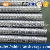 Material de chapa galvanizada acanalada metal del conducto