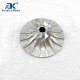 Подгонянная алюминиевая и стальная турбинка с подвергать механической обработке