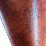 Кожа PU высокого качества для делать софы мебели