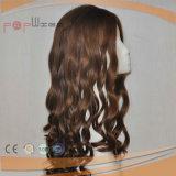 Самые лучшие продавая парики бразильских человеческих волос 100% супер длинние еврейские Kosher курчавые