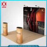 Рекламирующ стену будочки ткани напряжения сформулируйте торговую выставку стойки индикации