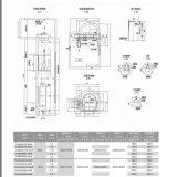 800kg Ascenseur panoramique Observation extérieure ascenseur élévateur ISO9001