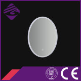 Oval PVC Frame LED retroiluminado Touch Screen baño Espejo