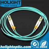 De Kabel DuplexLC aan LC 10g 2.0mm Aqua van het Flard van de vezel