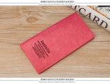 De dunne Koreaanse Portefeuille van de Beurs van de Dames van de Handtas van het Paar Lange Zachte Lange