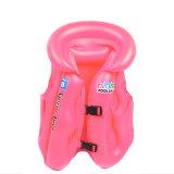 Diseño de marca cómodo aprender natación chaleco de natación inflable