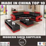 Neues Entwurf 2017 Modural Freizeit-Leder-Sofa für Wohnzimmer-Möbel (LZ 8001-A)