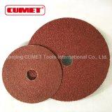 Granulosità di smeriglitatura dei dischi 100 della fibra
