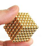 Bola 5m m magnética caliente Neocube del material 3m m 4m m de la precisión de la venta