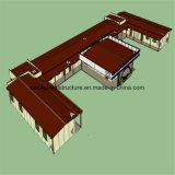 Ökonomisches vorfabriziertes lebendes Stahlhaus