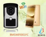 дверной звонок систем внутренней связи двери домашней обеспеченностью 2.4G беспроволочный WiFi видео-