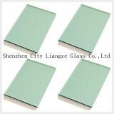 12mm F-cristal tintado de color verde y cristal y vidrio pintado para la decoración/edificio