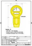 泥ポンプ圧力計(D/F) -タイプ