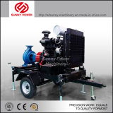 De Pomp van het Water van de dieselmotor met Aanhangwagen Movalbe voor LandbouwIrrigatie