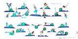 Powerun des GroßhandelsEco freundlichen 1/2 starke NBR Yoga-Extramatte Zoll-Schaumgummi-