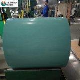 Bobina d'acciaio galvanizzata ricoperta colore Ral6027 & PPGI