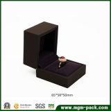 Коробка ювелирных изделий отделки лака высокого качества пластичная