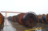 PVCはXLPEによって絶縁された高圧構築によって使用された地下の電源コードをおおった