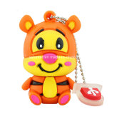 Tiger/Esel/Schwein USB-Flash-Speicher-Karikatur USB Pendrive