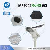 Capteur solaire à haute efficacité énergétique de l'éclairage de jardin d'éclairage Lampe avec batterie au lithium