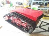 Gleisketten-Fahrgestell-Roboter-Gummispur-Chassis-drahtlose Bild-Akquisition (K02SP8MCCS2)