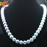 La moda de joyería hecha a mano de la joyería del collar de bolas de turmalina