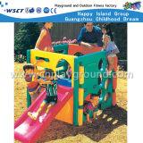 Il piccolo campo da giuoco di plastica scherza la combinazione del campo da giuoco da vendere (M11-09107)
