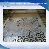 Parete divisoria di alluminio interna impermeabile a prova di fuoco fatta dello strato perforato
