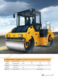 Compacteur de route rouleau vibrant automoteur de 8 tonnes (JM808H)