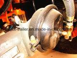 envase de la base plana 3-Axle que inclina el acoplado del volquete semi