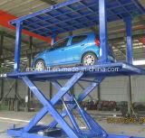 Carro Elevador Garagem tesoura hidráulica com tejadilho
