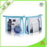 El vinilo transparente bolsas Zipper PVC bolsa de cosméticos