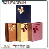 Papierpappkunstdruckpapier-gewölbtes Papier-kundenspezifischer Papierverpackungs-Beutel für Hilfsmittel-Weihnachtsuhr-Querbinder-Socke fördern Produkte (F90)